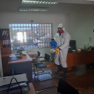 sanitizacion oficinas